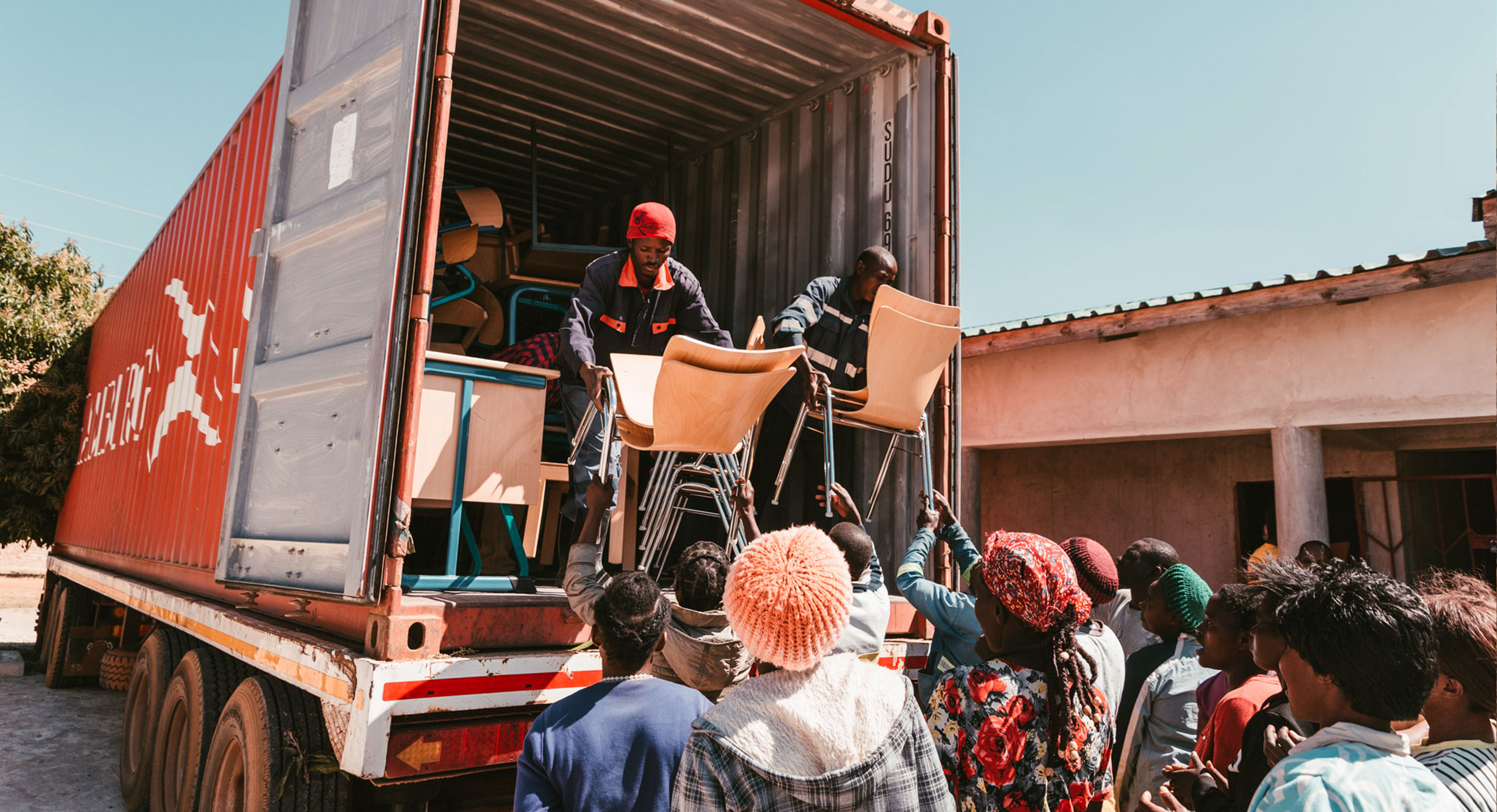 Container-in-Sambia